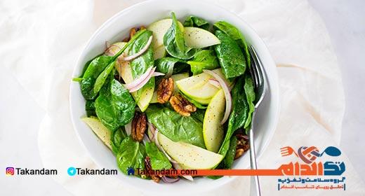 Polyps-traditional-treatment-pecan-salad
