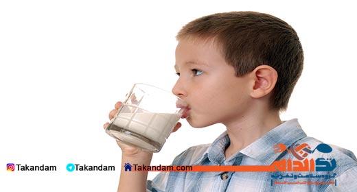bone-structure-drinking-milk