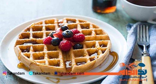 breakfast-time-waffle