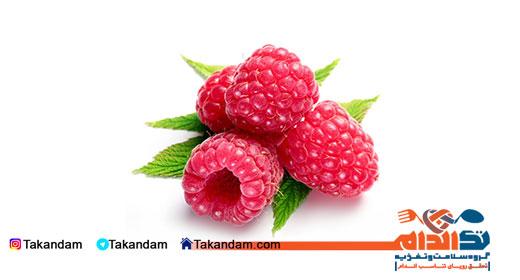 flat-stomach-food-raspberry