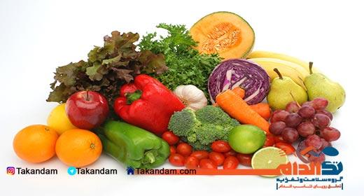 جدول ارزش غذایی