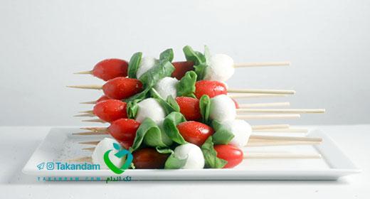 keto-diet-snack-Caprese-salad-skewers