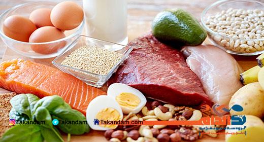 جدول ارزش غذایی 2